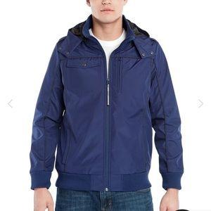 Baubax Men's Blue Bomber Jacket